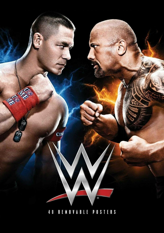JOHN CENA AND THE ROCK WWE A4  POSTER PRINT