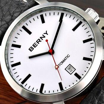 Berny Men Watch Quartz Mens Watches Fashion Top Luxury Brand Relogio Saat Montre Horloge Masculino Erkek Hombre  Gift 2678M