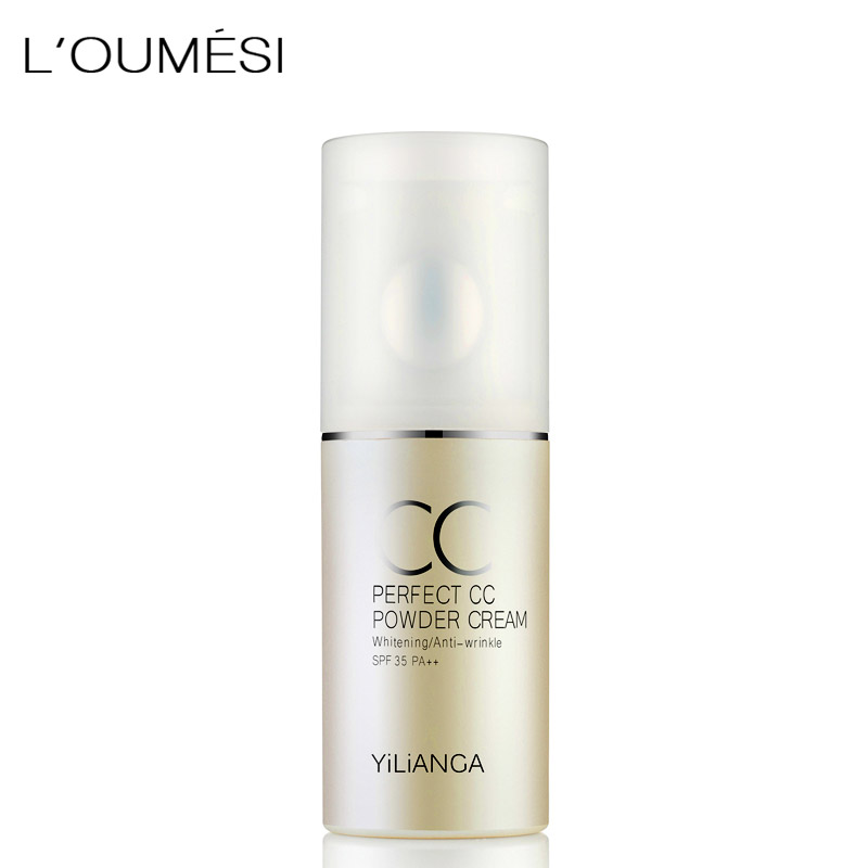 Loumesi brand face concealer bb cream face foundation cream waterproof oily skin long wear hot selling image