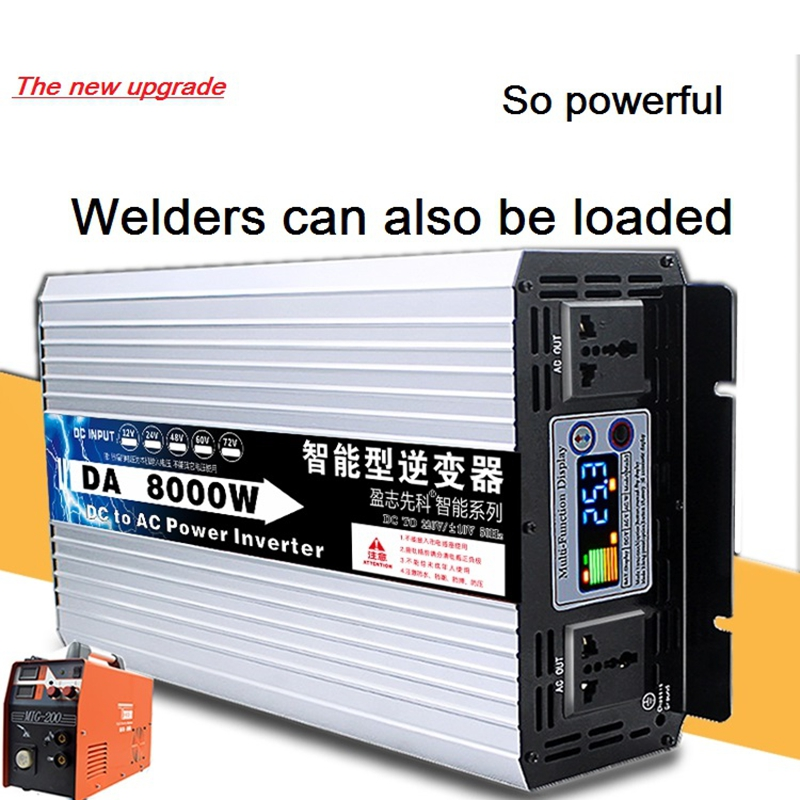 Reine sinus welle haushalt DIY step up converter power micro <font><b>Inverter</b></font> boost DC <font><b>12v</b></font> 24v zu AC <font><b>220v</b></font> 50hz 4000w 5000w <font><b>6000w</b></font> 8000w image