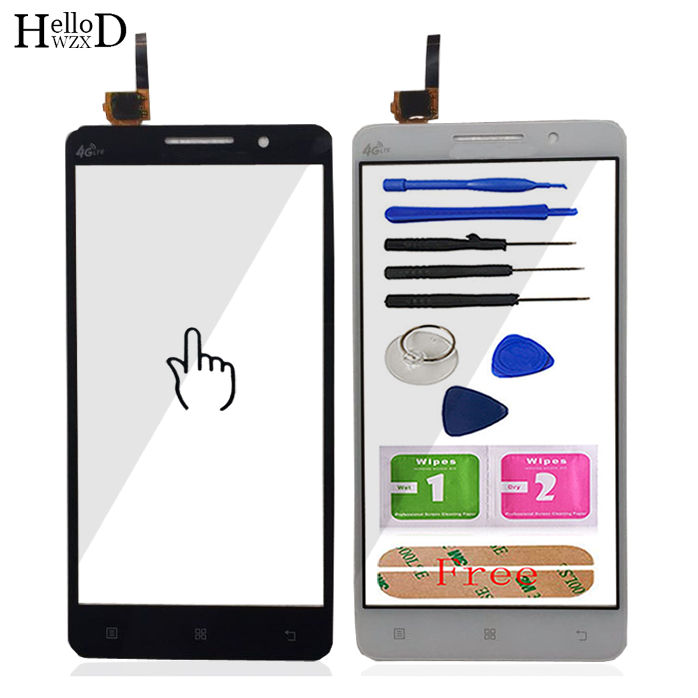Mobile Phone Touch Screen Front Glass For <font><b>Lenovo</b></font> <font><b>A616</b></font> A5800 Digitizer Panel Lens Sensor Flex Cable Tools image