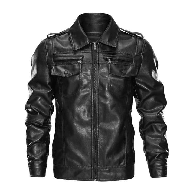 Leather Biker Jacket 2