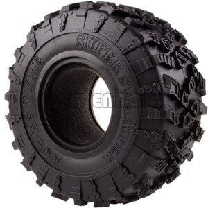 Image 3 - ENRON 4P pneus Super Swamper de 2.2 pouces, pneus de 132MM, pour RC 1/10 escalade, chenille 1:10 RR10 Wraith TRX 4 TRX4 KM2 YETI