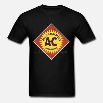 Camiseta masculina Allis Chalmers 2 Vintage Tractor maquinaria granja equipo