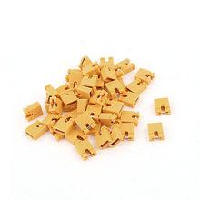 50 шт. 2,54 мм стандартная печатная плата Shunts Короткая перемычка крышка соединения желтый
