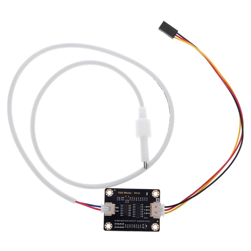 Analog TDS Sensor Water Conductivity Sensor for Liquid Detection Water Quality Monitoring Module DIY TDS Online Monitor|Flow Sensors| |  - title=