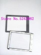 2 PCS/New Outer Vidro Da Janela Da Tela Parte Para Sony DSC HX200V HX200V A77 A65 A57 HX200 Substituição Câmera