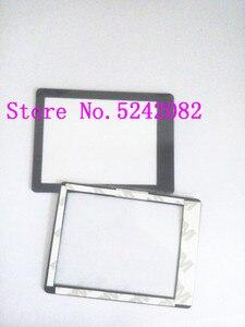 Image 1 - 2 PCS/חדש חיצוני מסך חלון זכוכית חלק עבור Sony DSC HX200V HX200V A77 A65 A57 HX200 החלפת מצלמה