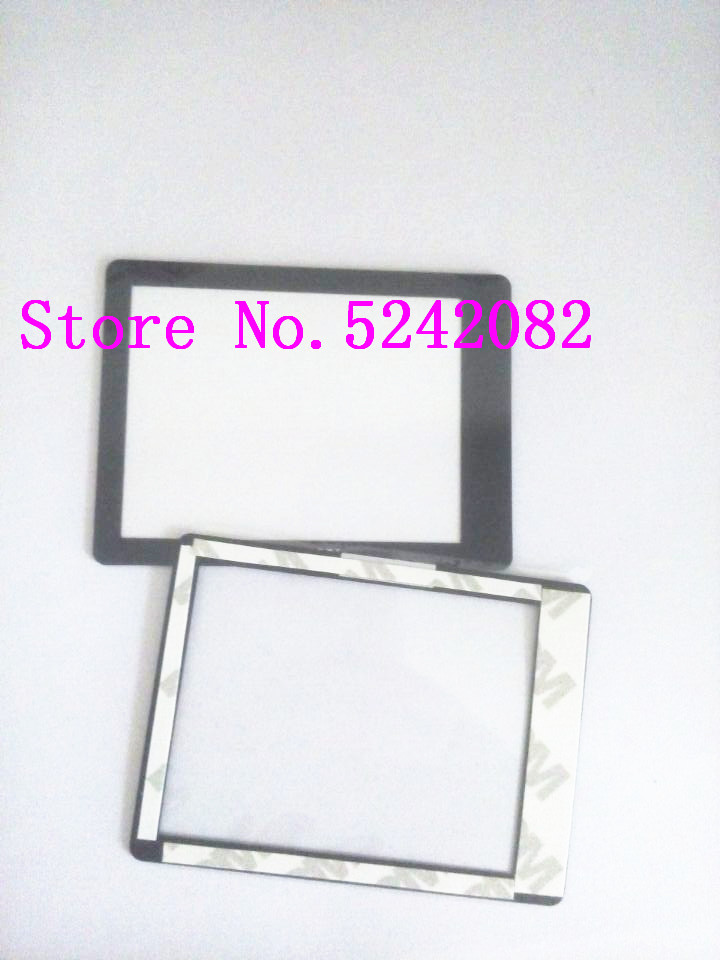 2PCS/New Outer Screen Window Glass Part For Sony DSC-HX200V HX200V A77 A65 A57 HX200 Camera Replacement
