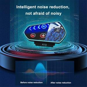 Image 2 - سماعة رأس بلوتوث 5.0 A10 للدراجات النارية ، مع ميكروفون IP67 ، LED ، مقاوم للماء ، لاسلكي ، للمكالمات والموسيقى