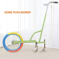 Small household pick-up push weeder ripper machine tumbling micro tillage rotary tillage ditch