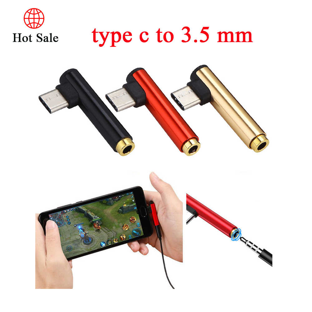 1pcs Type-c To 3.5mm for Earphones Jack Adapter Converter Listening To Music Audio for Xiaomi Samsung Huawei Nokia HTC