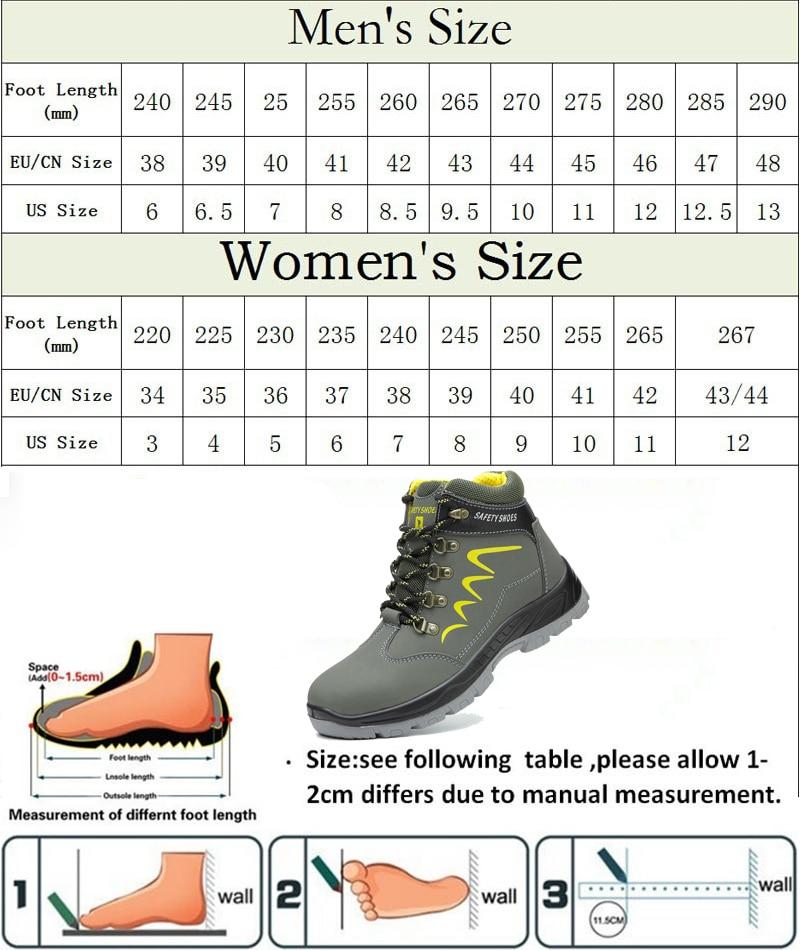 adult size chart-1