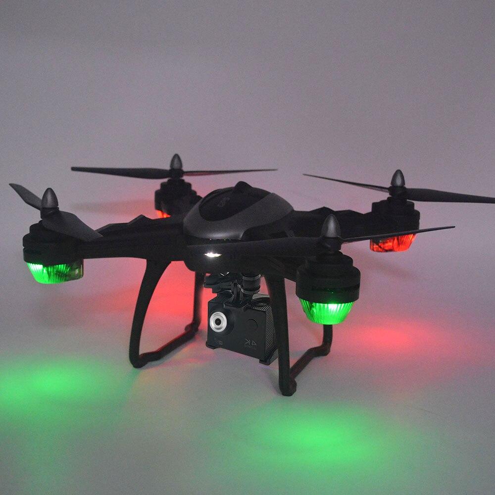 X38GF 4K 1080P HD камера Дрон Wi Fi FPV GPS Квадрокоптер оптическое позиционирование потока широкоугольный Дальний контроль самолета