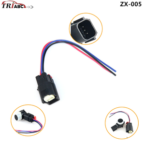 PDC Parking Sensor Connector Plug With 3-Wires For F-150 Taurus MKS MKT B-Max Edge Mustang Expedition Lincoln GM Chevrolet(China)
