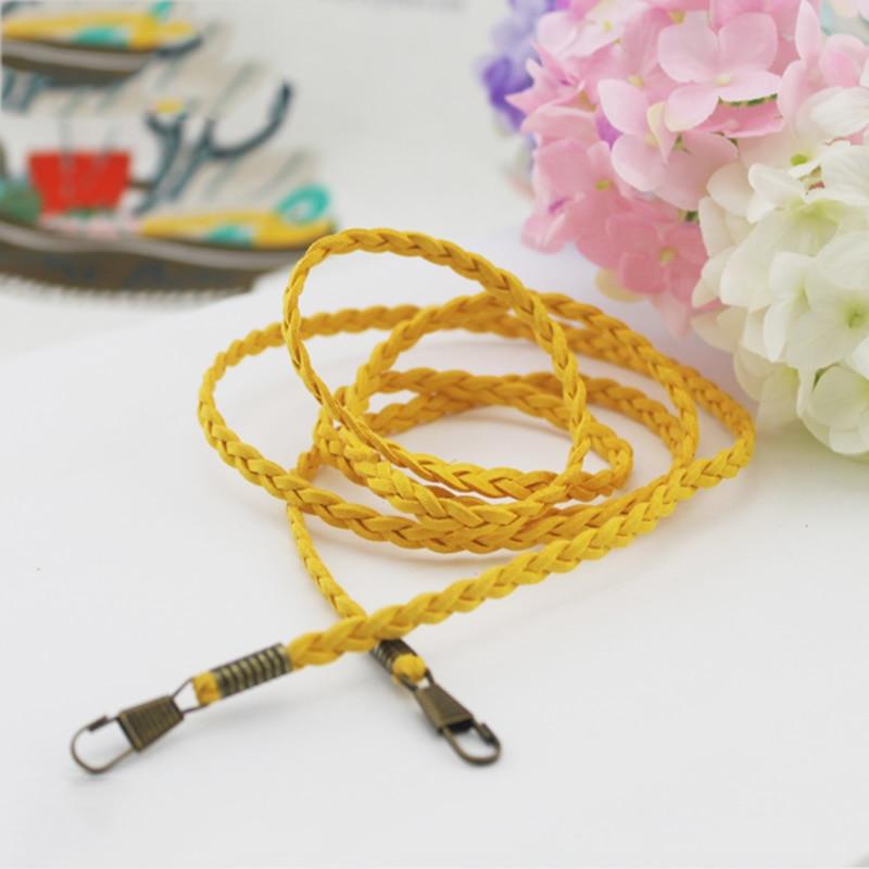 Woven Bag Chain Strap Replacement For Purse Handbag Shoulder Bag Accessories DIY Convenient Handle Shoulder Handbag Bags Strap