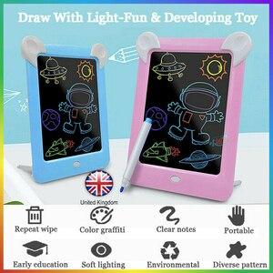 Смарт ЖК-планшет для письма электронный блокнот Рисование графика почерк Pad Доска флуоресцентный волшебный светильник