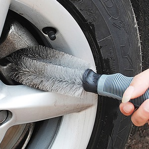 Car Vehicle Motorcycle Wheel Hub Tire Rim Scrub Brush Washing Dust Cleaner Cleaning Tool For Auto Audi BMW Nissan VW Truck