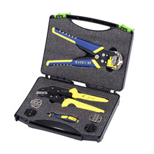 5-In-1 Ratchet Terminal Krimptang Multi-Tool Wire Crimpers Techniek Ratchet Terminal Krimptang Terminals tang(China)