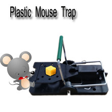 Set of 10 Humane Plastic Quick Catch Kill Mouse Rat Snap Trap Rodent Killer(China)