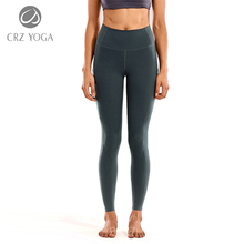 Yoga-Pants Leggings-28-Inches High-Waisted Luxury Pockets Athletic Naked-Feeling Women's