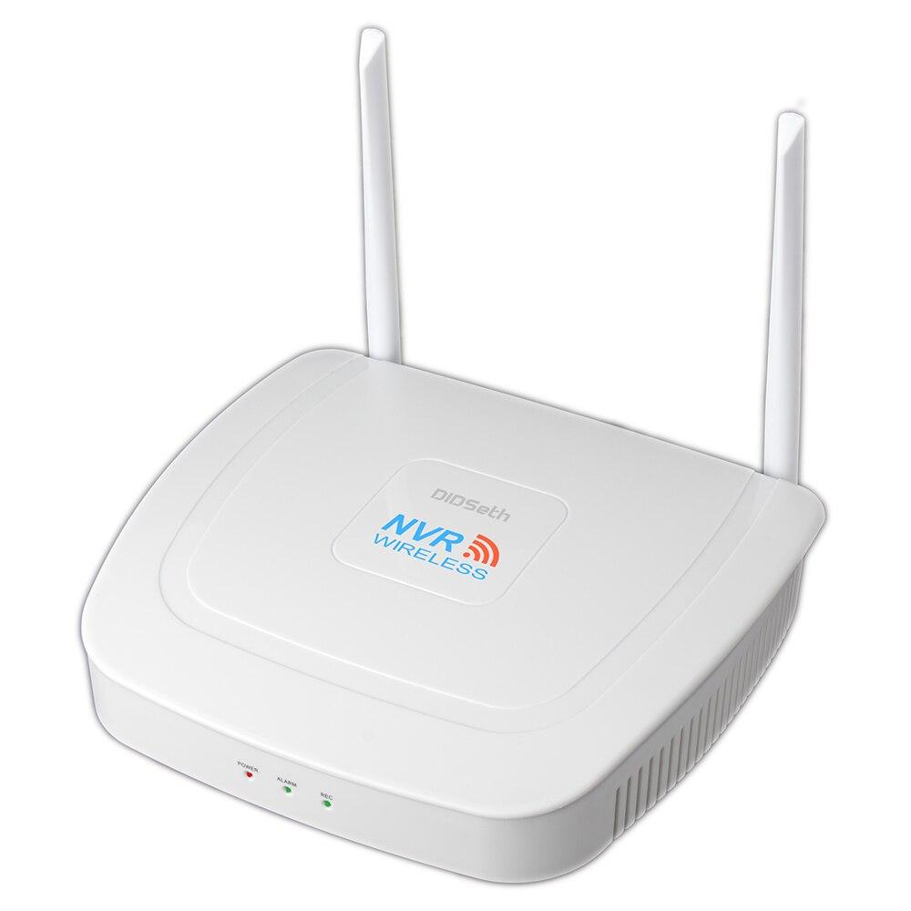 DIDSeth 2MP 1080P System cctv 4ch bezprzewodowa HD zestaw monitoringu nvr na zewnątrz IR Night Vision IP kamera wifi System bezpieczeństwa kamera monitorująca