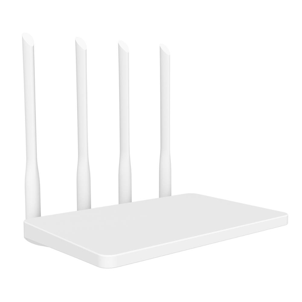 300Mbps Wifi Router 2.4G Wireless Wi-fi Repeater Extender DDR2 64M MTK7628NN 4 Anttenas English Firmware Lan Cable As Gift Zbt