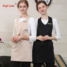 New beauty salon cosmetician work clothes female technician set skirt health club apron custom logo