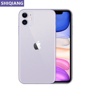 Odblokuj oryginalny Apple iphone 11 używane telefony komórkowe 6 1in twarz 4 + 64 128 256GB 4G LTE telefony komórkowe GPS i NFC 12 + 12MP 1 2 karta SIM A13 tanie i dobre opinie SOYES Nie odpinany CN (pochodzenie) Rozpoznawania twarzy Do 200 godzin 3110 Adaptacyjne szybkie ładowanie Smartfony Pojemnościowy ekran