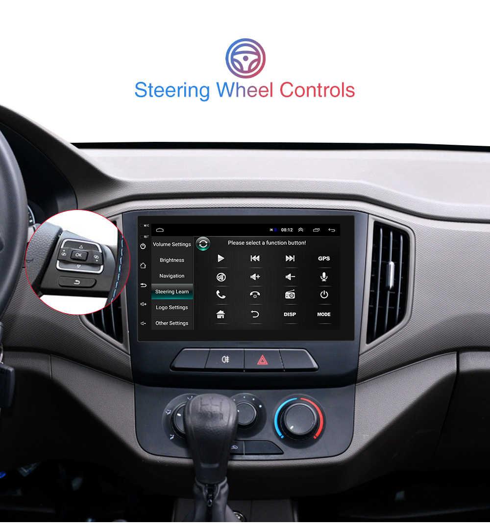 Podofo 2 Din Android Auto Radio Gps Bluetooth Audio Stereo Wifi Usb Fm 2Din Auto Autoradio Voor Vw Nissan Hyundai toyota CR-V Kia