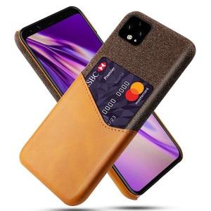 For Google Pixel 4A 4 3a 3 2 XL Cover Card Slots Case PU Leather Business Case For Google Pixel 4A 4XL 4a 3aXL 3a 3XL 2XL Capa