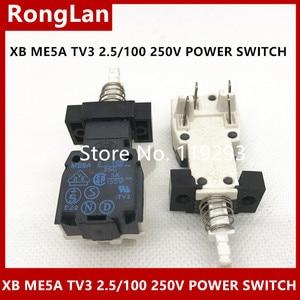 ME5A TV3 2,5/100 250В XB выключатель питания потенциометр переключатель 4 Pin-20PCS/лот