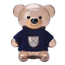 Копилка в виде медведя копилка для денег Детская монет пластиковый