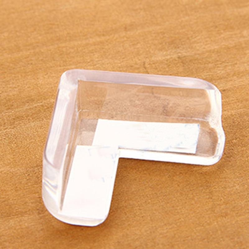 4/PCS Child Safety Transparent Anti-collision Corner Strip Thickened Table Corner Anti-collision Protection Strip