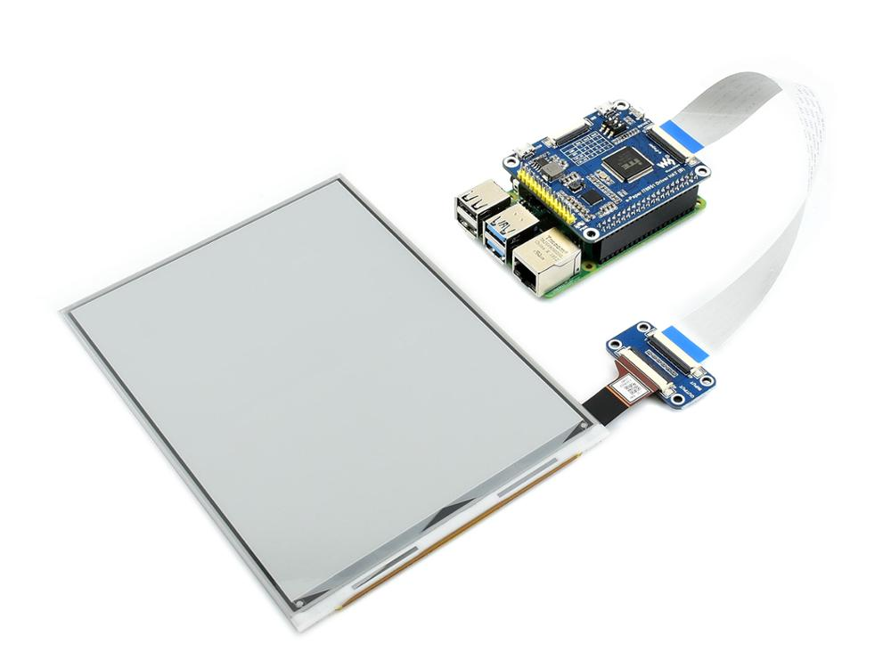 Image 4 - Waveshare 7.8inch E Ink display HAT for Raspberry Pi, 1872*1404 resolution,IT8951 controller, USB/SPI/I80/I2C interfaceDemo Board   -