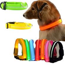 Night Flash Indicator Light Pet Collar LED Light Flashing Glow In The Dark for Cat Dog Anti-Lost/Avoid Car Accident Collar Lamp lost light