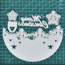 DiyArts Snowflake Merry Christmas Metal Cutting Dies New 2019 Craft Scrapbooking Album Embossing Stencil Die Cut Decor