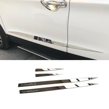 CAR STYLING DOOR SIDE PANEL MOLDING GARNISH FOR NISSAN QASHQAI J11 2017 2018 2019 ACCESSORIES