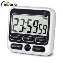 Temporizador Digital de cocina con pantalla grande, temporizador Digital, alarma con cuenta atrás, cronómetro de sueño