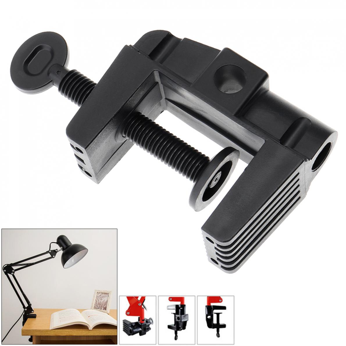 Universal Bracket Clamp Accessories DIY Fixed Metal Clip Fittings Screw Light Mounting Holder For Microphone Desk Lamp Lamp Clip