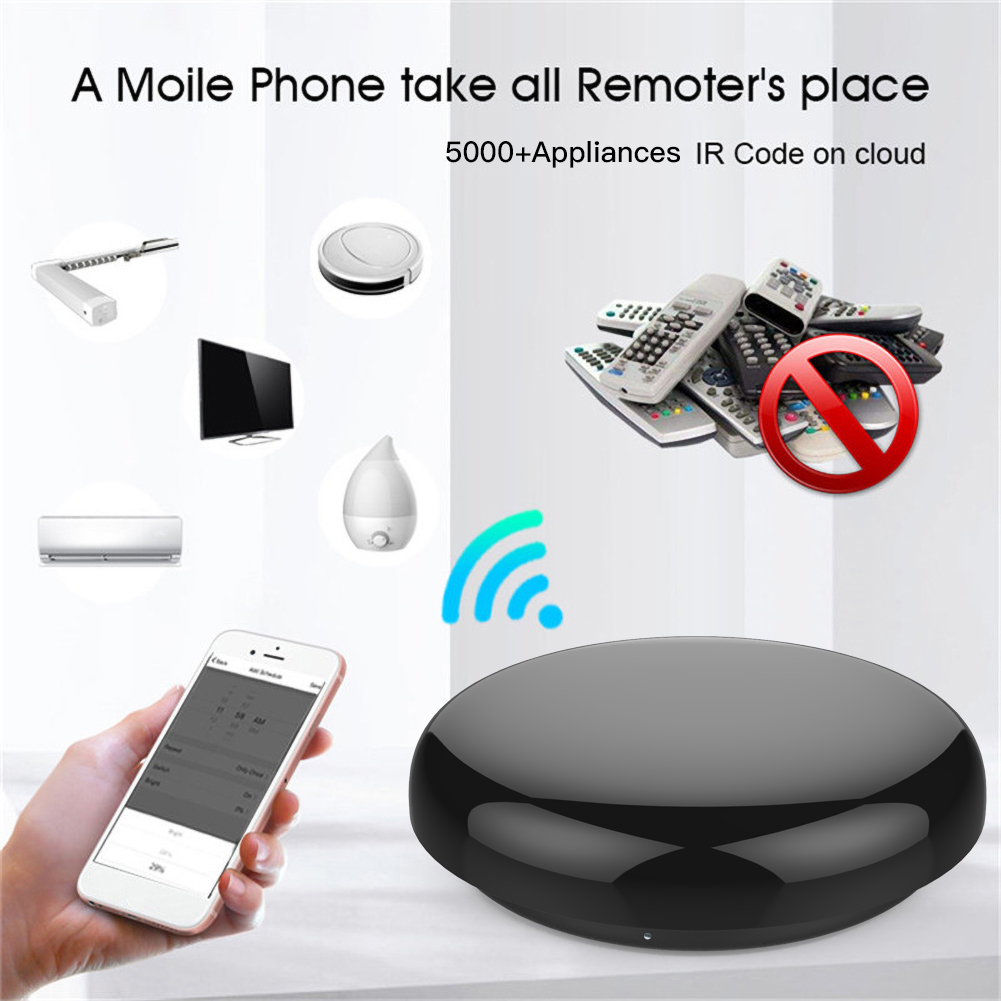 Universal WiFi IR Smart Remote Control Remote Control Work with Siri Alexa Google Home Control Hub Tuya Assistant Smartphone