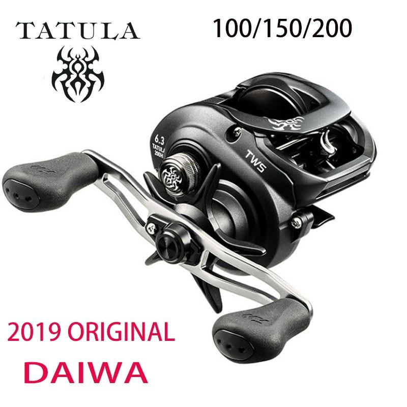 Новинка 2019 DAIWA TATULA 100 150 200 Рыболовная катушка baitcasing катушка MAX DRAG 5 кг/6 кг Низкопрофильная катушка для литья 7BB + 1RB