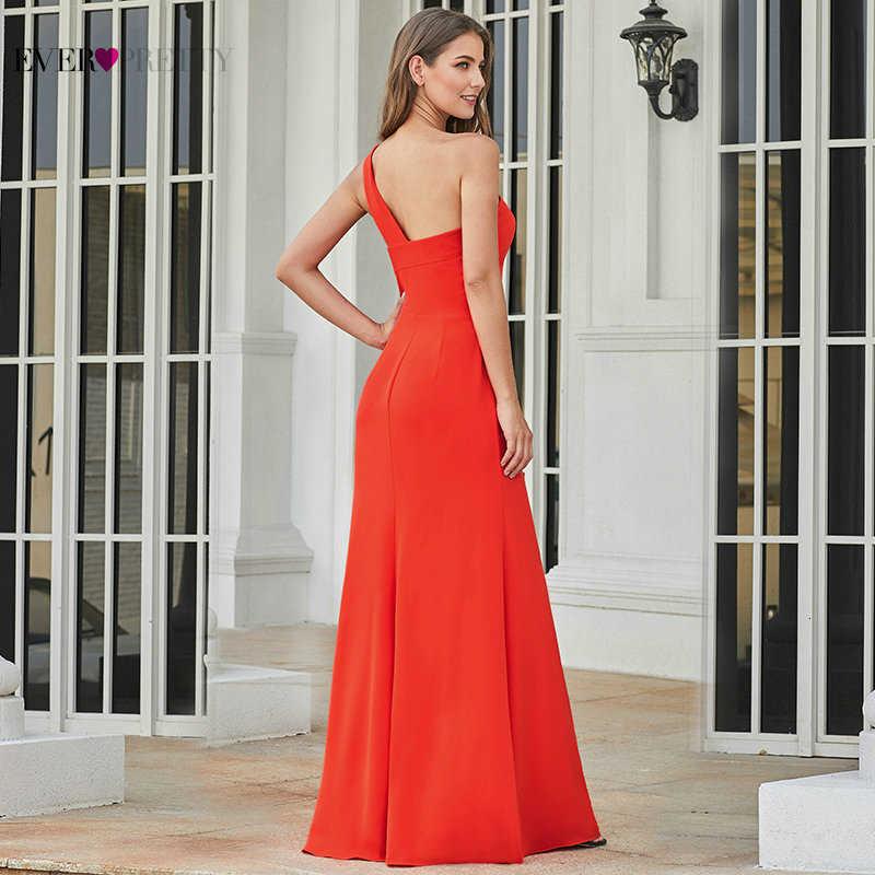 Elegante Red Abiti Da Sera Mai Abbastanza Una Linea di O-Collo Mezza Manica In Rilievo A Buon Mercato Convenzionale Chiffon Vestiti Da Partito Robe De Soiree 2020