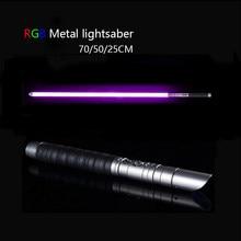 2in1 Star Wars LED FX Spada Laser Light Saber Spada Luci Giocattolo Regalo di compleanno
