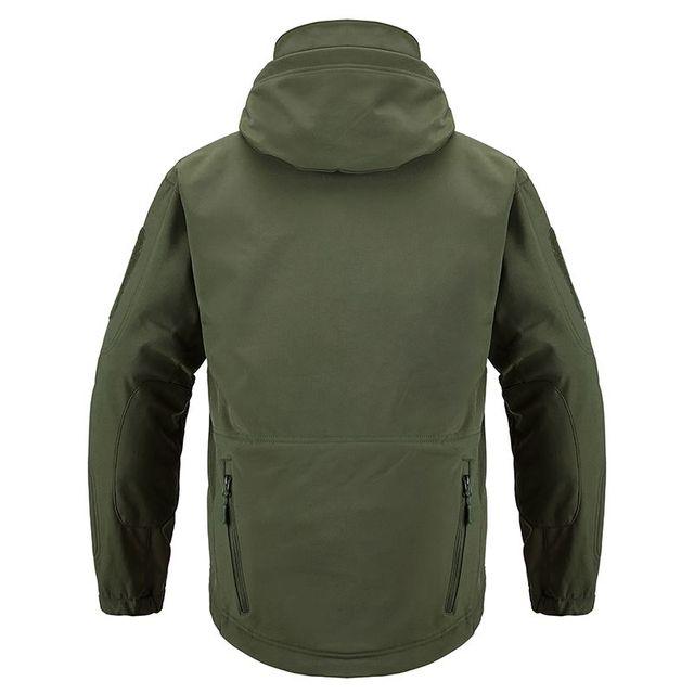 Shark Soft Shell Military Tactical Jacket Men Waterproof Warm Windbreaker US Army Clothing Winter Big Size Men Camouflage Jacket 4