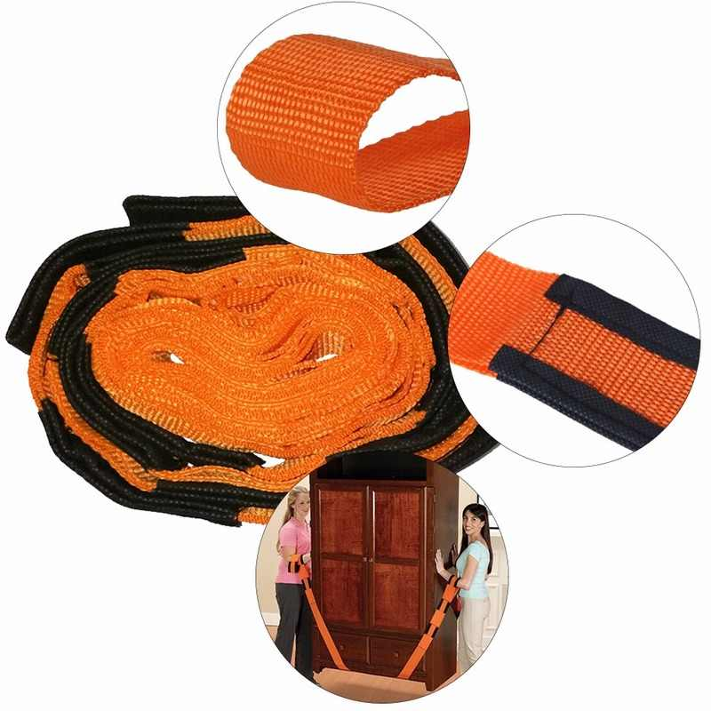 Home Furniture Moving Forearm Forklift Lifting Moving Strap Carry Ropes Transport Belt Wrist Straps Home Move Convenient Tools
