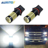 Luz LED antiniebla para coche, P13W SH24W luz blanca, sin Error, para Audi B8, A4, S4, Q5, mercedes-benz Clase E, W212, Chevy Camaro DRL, 2 uds.