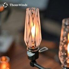 Thous Winds Jeebel Camp BRS 55 SP GL 140 Wass lampa gazowa szklany lampion odkryty camping wymienna lampa abażur akcesoria