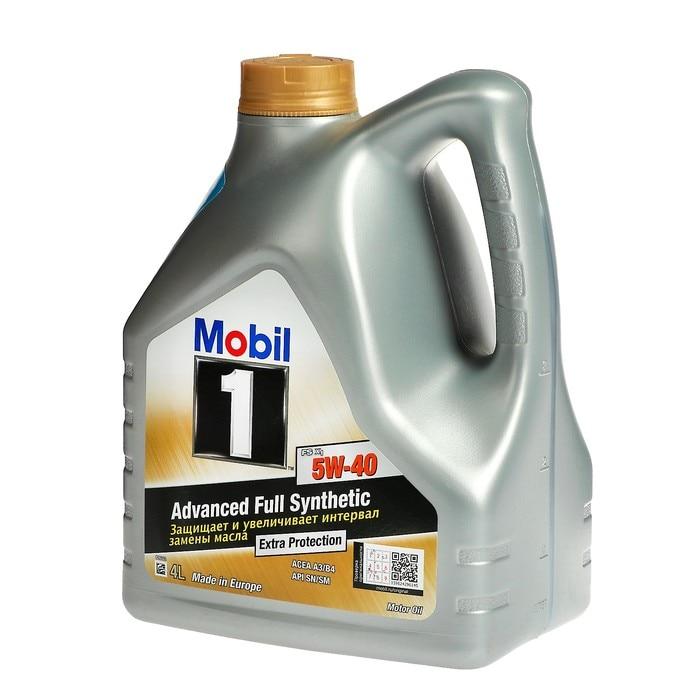 Масло моторное Mobil 1 FS X1 5W40 синтетическое 4 л 153265