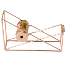 Metal rose gold Tape Cutter Washi Tape Storage Organizer Cutter Stationery Office Tape Dispenser Office Supplies 2 5 iron tape cutter red